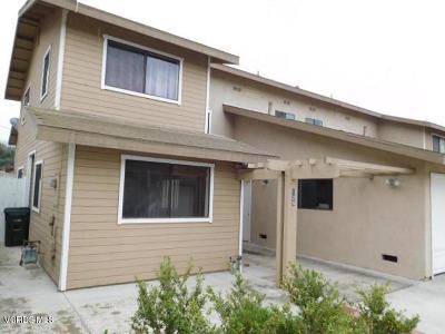 Santa Paula Condo/Townhouse For Sale: 129 North Steckel Drive