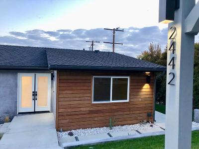 Ventura Single Family Home For Sale: 2442 Sherwood Drive
