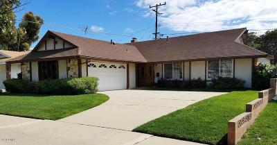 Oxnard Single Family Home Active Under Contract: 910 Dahlia Street