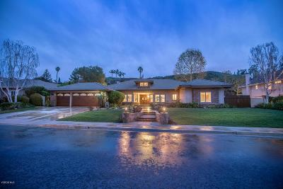 Thousand Oaks Single Family Home For Sale: 2176 Valleyfield Avenue