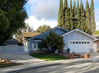 Simi Valley Single Family Home For Sale: 3935 Celia Court