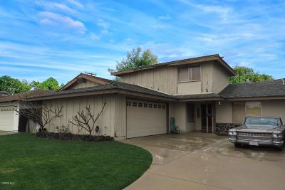 Camarillo Single Family Home Active Under Contract: 1516 Regent Street