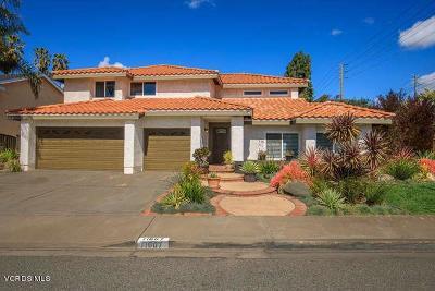 Moorpark Single Family Home For Sale: 11607 East Buttercreek Road