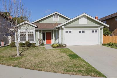 Ventura Single Family Home For Sale: 698 Westfield Court