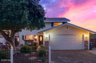 Newbury Park Single Family Home For Sale: 217 Canyon Road