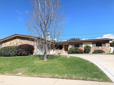 Santa Paula Single Family Home For Sale: 131 Rhame Terrace