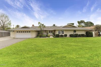Thousand Oaks Single Family Home For Sale: 1089 Waverly Heights Drive