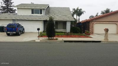 Oxnard Single Family Home Active Under Contract: 2337 Kentia Street