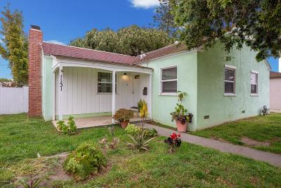 Oxnard Single Family Home For Sale: 1131 West Beverly Drive