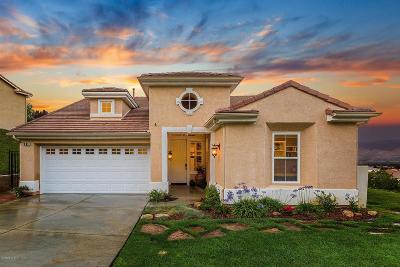 Santa Paula Single Family Home For Sale: 803 Vista Grande Drive