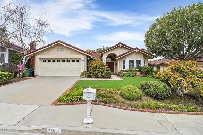 Thousand Oaks Single Family Home Active Under Contract: 2182 Peak Place
