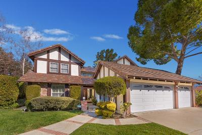 Westlake Village Single Family Home For Sale: 829 Rim Crest Circle