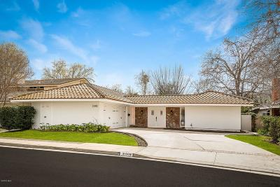 Westlake Village Single Family Home Sold: 31908 Benchley Court