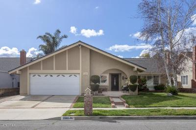 Simi Valley Single Family Home Active Under Contract: 2285 Timberlane Avenue