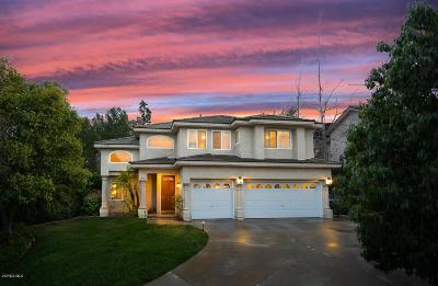 Newbury Park Single Family Home Active Under Contract: 252 Windrose Court