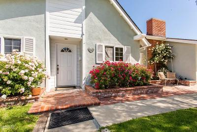 Newbury Park Single Family Home Active Under Contract: 161 Sandra Court