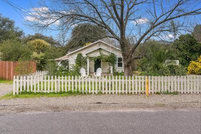 Ojai Single Family Home For Sale: 155 North Encinal Avenue