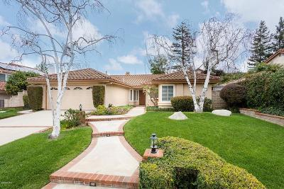 Moorpark Single Family Home For Sale: 4104 Trailcrest Drive