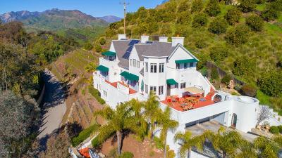 Ojai Single Family Home For Sale: 108 Farnham Road