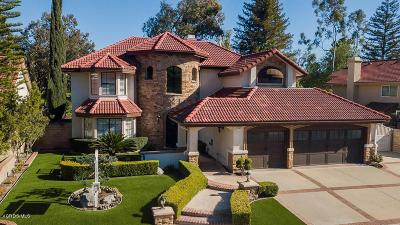 Simi Valley Single Family Home Active Under Contract: 5372 Seneca Place