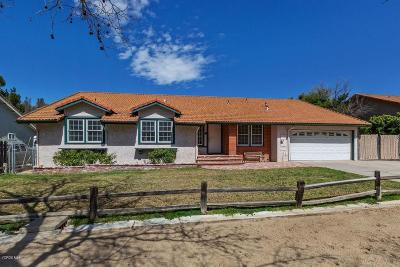 Simi Valley Single Family Home For Sale: 1321 Mellow Lane