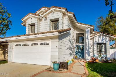Simi Valley Single Family Home For Sale: 430 Lake Breeze Place