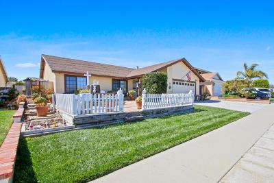 Ventura Single Family Home For Sale: 2127 Ermine Avenue
