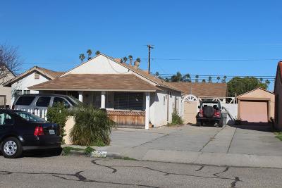 Oxnard Single Family Home For Sale: 736 South F Street