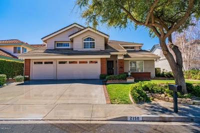 Thousand Oaks Single Family Home For Sale: 2158 Brookfield Drive