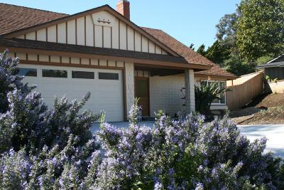 Ventura Single Family Home Active Under Contract: 487 Georgetown Avenue