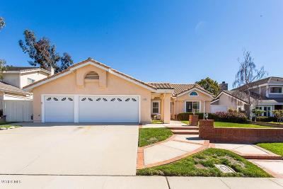 Camarillo Single Family Home Active Under Contract: 1556 Via La Silva