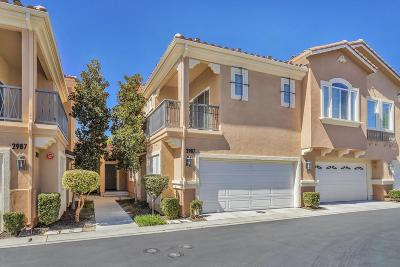 Simi Valley Condo/Townhouse For Sale: 2987 Campa Way #C