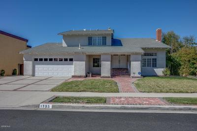 Simi Valley Single Family Home For Sale: 1735 Claudia Avenue