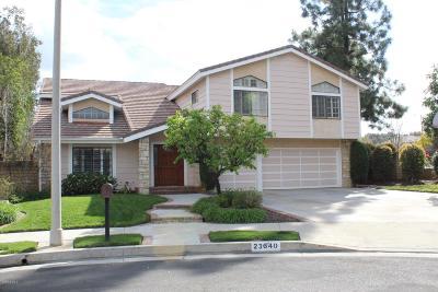 West Hills Single Family Home For Sale: 23640 Elkwood Street