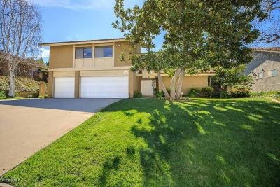 Westlake Village Single Family Home For Sale: 3215 Sierra Drive