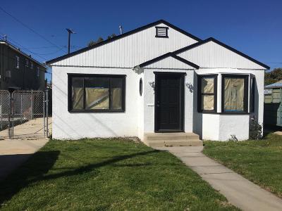 Ventura County Single Family Home For Sale: 115 East B Street