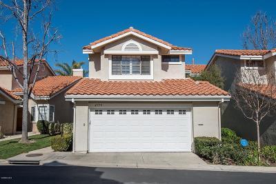 Ventura County Condo/Townhouse For Sale: 4779 Castello Way