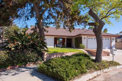 Ventura Single Family Home For Sale: 6365 Burnett Circle