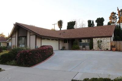 Ventura County Single Family Home For Sale: 5461 Lehigh Street
