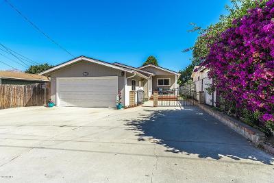 Ventura County Single Family Home For Sale: 249 Mahoney Avenue