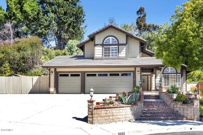 Thousand Oaks Single Family Home For Sale: 2662 Ridgebrook Place