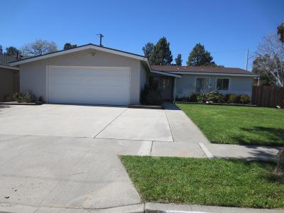 Camarillo Single Family Home For Sale: 1287 Durkin Street