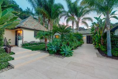 Ojai Single Family Home For Sale: 3250 East Ojai Avenue
