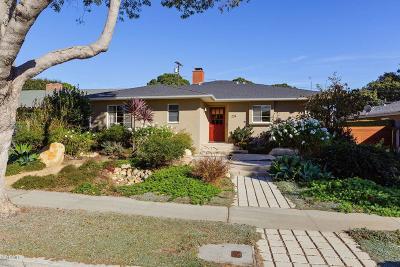 Ventura Single Family Home Active Under Contract: 224 Dorothy Avenue