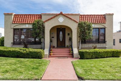 Ventura Single Family Home For Sale: 134 Chrisman Avenue