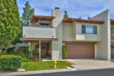 Thousand Oaks Condo/Townhouse For Sale: 954 Woodlawn Drive