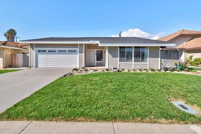 Camarillo Single Family Home Active Under Contract: 2225 Ascot Place
