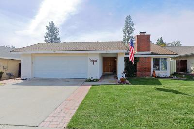 Newbury Park Single Family Home Active Under Contract: 3958 Coronado Circle