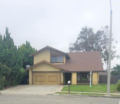 Ventura Single Family Home For Sale: 2255 Wildcat Avenue