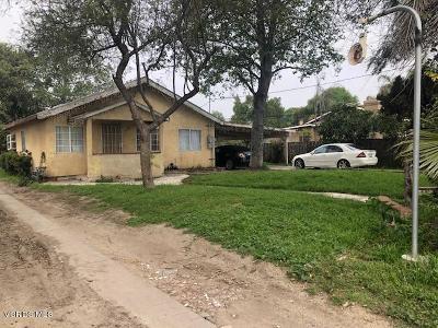 Oxnard Single Family Home For Sale: 3565 Orange Drive